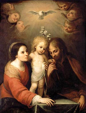 """Święta Rodzina"" - Juan Simon Gutierrez"