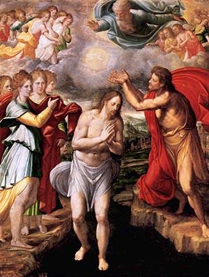 Chrzest Chrystusa - Navarrete el Mudo