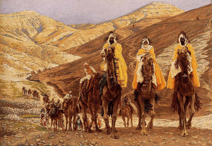 Podróż Magów - James Tissot