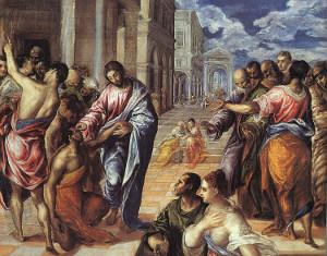 El Greco - Uzdrowienie niewidomego