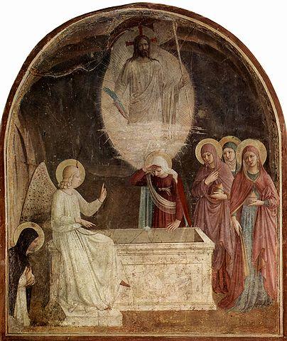 Fra Angelico - Kobiety przy pustym grobie