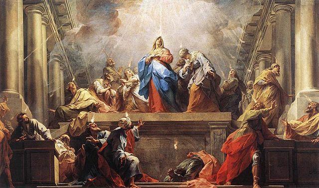 Zesłanie Ducha Świętego - Jean II Restout
