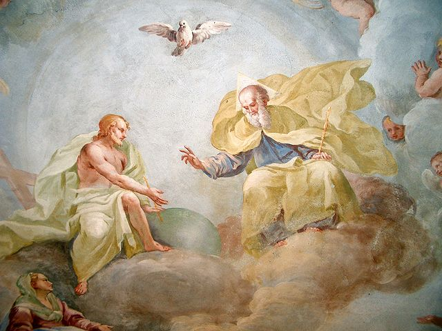 Święta Trójca - Luca Rossetti da Orta