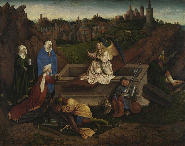 Trzy Marie u Grobu - Jan van Eyck